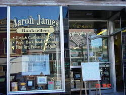 logo: Aaron James Booksellers