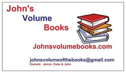 photo of JohnJohn's Volume Books