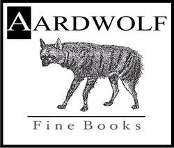 AARDWOLF Fine Books bookstore logo