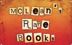 logo: Olivia McLean Books