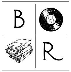 Books + Rec Shoppe logo