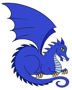 logo: Blue Dragon Books