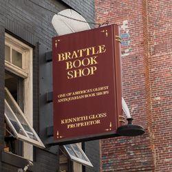 Brattle Book Shop logo
