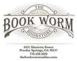 The Book Worm Bookstore logo