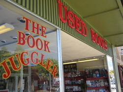logo: The Book Juggler