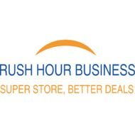 RUSH HOUR BUSINESS bookstore logo
