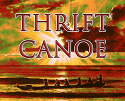 logo: Thrift Canoe