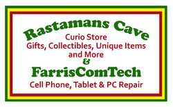 logo: Rastamans Cave & FarrisComTech