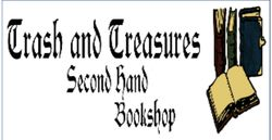 logo: Trash and Treasures Secondhand Books