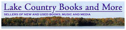 Lake Country Books and More bookstore logo