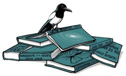 The Sensible Magpie bookstore logo