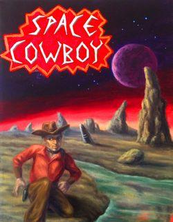 logo: Space Cowboy Books