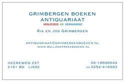 logo: Grimbergen Boeken Antiquariaat vof