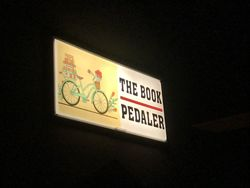 logo: The Book Pedaler