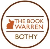 logo: The Book Warren and Cafe