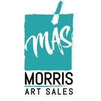 logo: MORRIS ART SALES