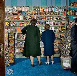 Retro Readers store photo