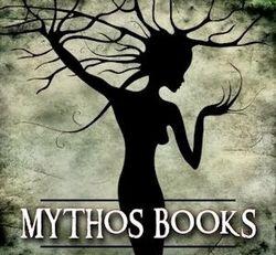 Mythos Center Books bookstore logo
