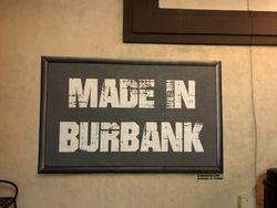 logo: Burbank Books