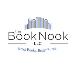 The Book Nook bookstore logo