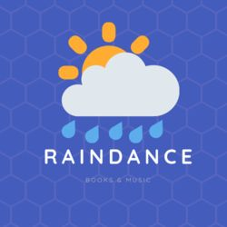 logo: Raindance Books and Music