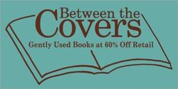 Between the Covers Bookshop bookstore logo