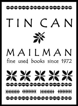 Tin Can Mailman bookstore logo