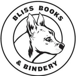 The Book Merchant, LLC, DBA Bliss Books & Bindery bookstore logo
