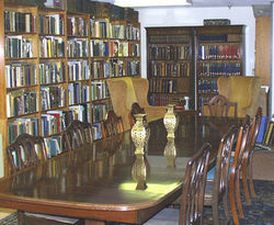 photo of Payson Hall Books