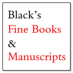 logo: Black's Fine Books and Manuscripts