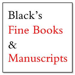Black's Fine Books & Manuscripts logo