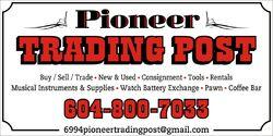 logo: Pioneer Trading Post CA