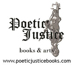 logo: Poetic Justice Books and Arts