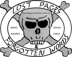 Lost Pages & Forgotten Words bookstore logo