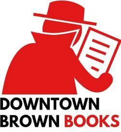 logo: Downtown Brown Books, ABAA