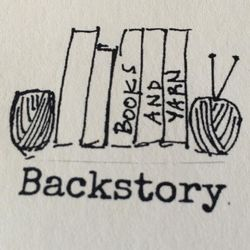 logo: Backstory Books & Yarn
