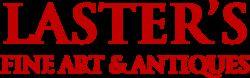 Laster's Fine Art & Antiques logo