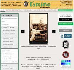 Tamino Autographs store photo