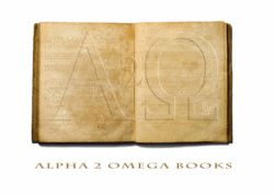 Alpha 2 Omega Books logo