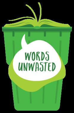 logo: Words Unwasted