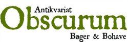 logo: Antikvariat Obscurum