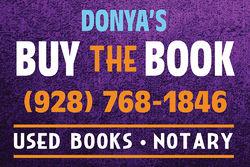 Donya's Buy the Book logo
