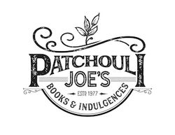 logo: Patchouli Joe's Books & Indulgences