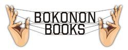 Bokonon Books bookstore logo