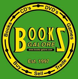 Books Galore LLC bookstore logo