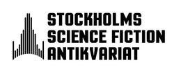 Stockholms science fiction antikvariat logo