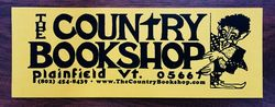The Country Bookshop bookstore logo