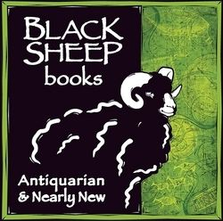 Black Sheep Books (IOBA) bookstore logo