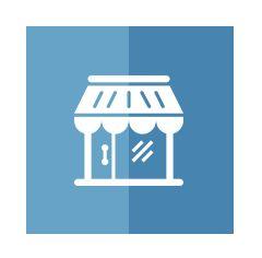 XLIII Discount World logo