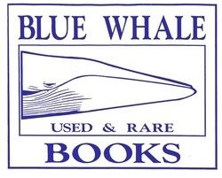 logo: Blue Whale Books, ABAA